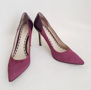 Enzo Angiolini Suede and Patent Leather Heels